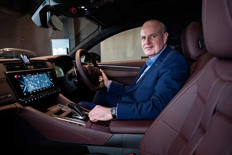 DS 9 plug-in hybrid with UK managing director Jules Tilstone