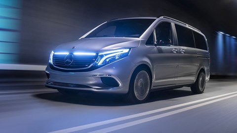Mercedes-Benz EQV: an electric V-Class is coming