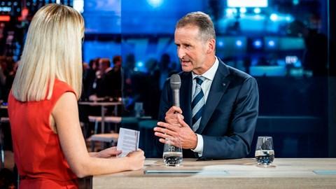 VW chief Herbert Diess