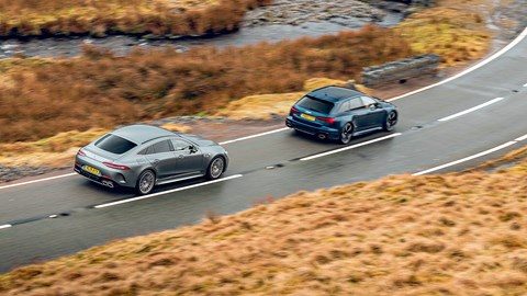 Mercedes-AMG GT 4-Door or Audi RS6?