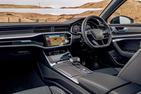 New 2020 Audi RS6 Avant interior