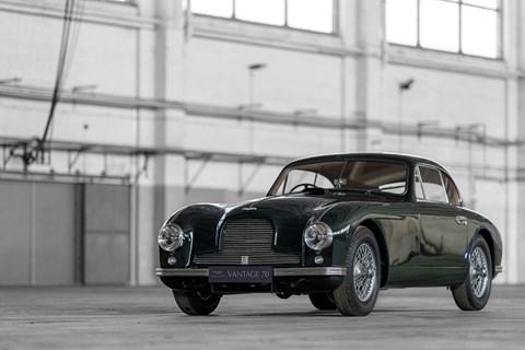 The 1950 Aston Martin DB2 Vantage where it all began