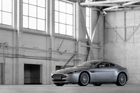 The VH-platformed Aston Martin V8 Vantage of 2005 is the bestselling Aston of all time