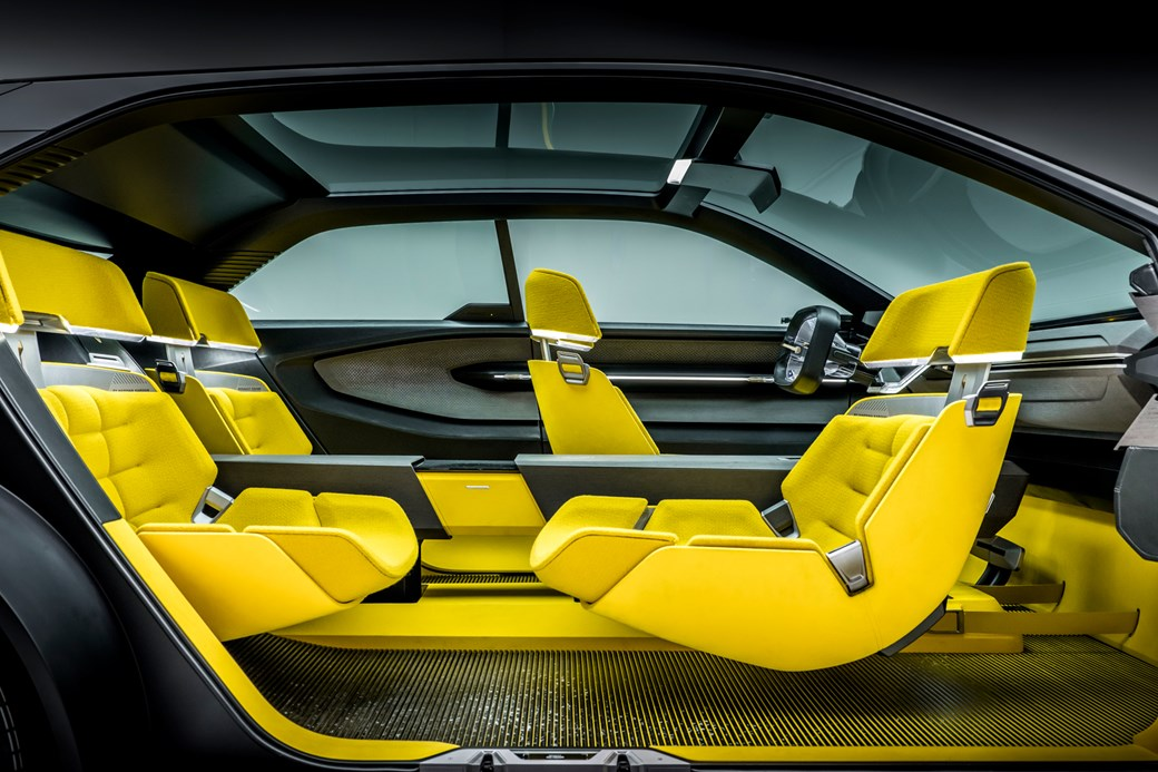 Renault Morphoz interior