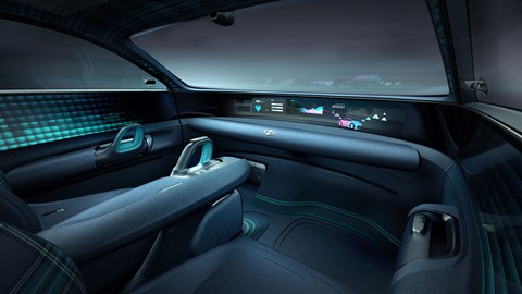 Hyundai Prophecy concept car interior