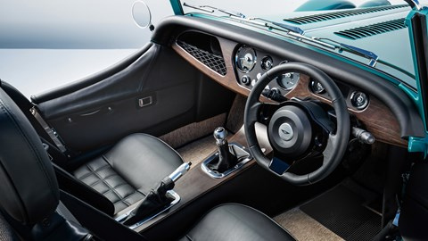 2020 Morgan Plus Four dashboard