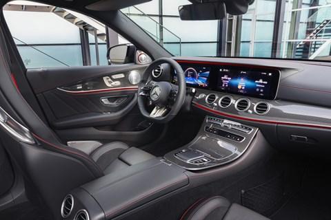 2020 E53 interior