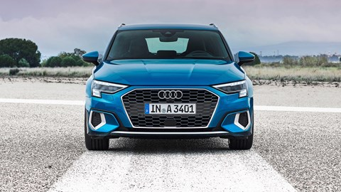 Audi A3 Sportback: front end