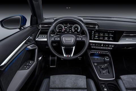 Audi A3 Sportback interior and cabin