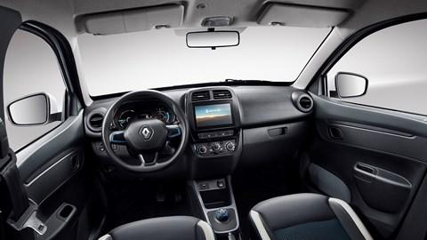 Renault City K-ZE interior - the basis for the Dacia Spring's trim?