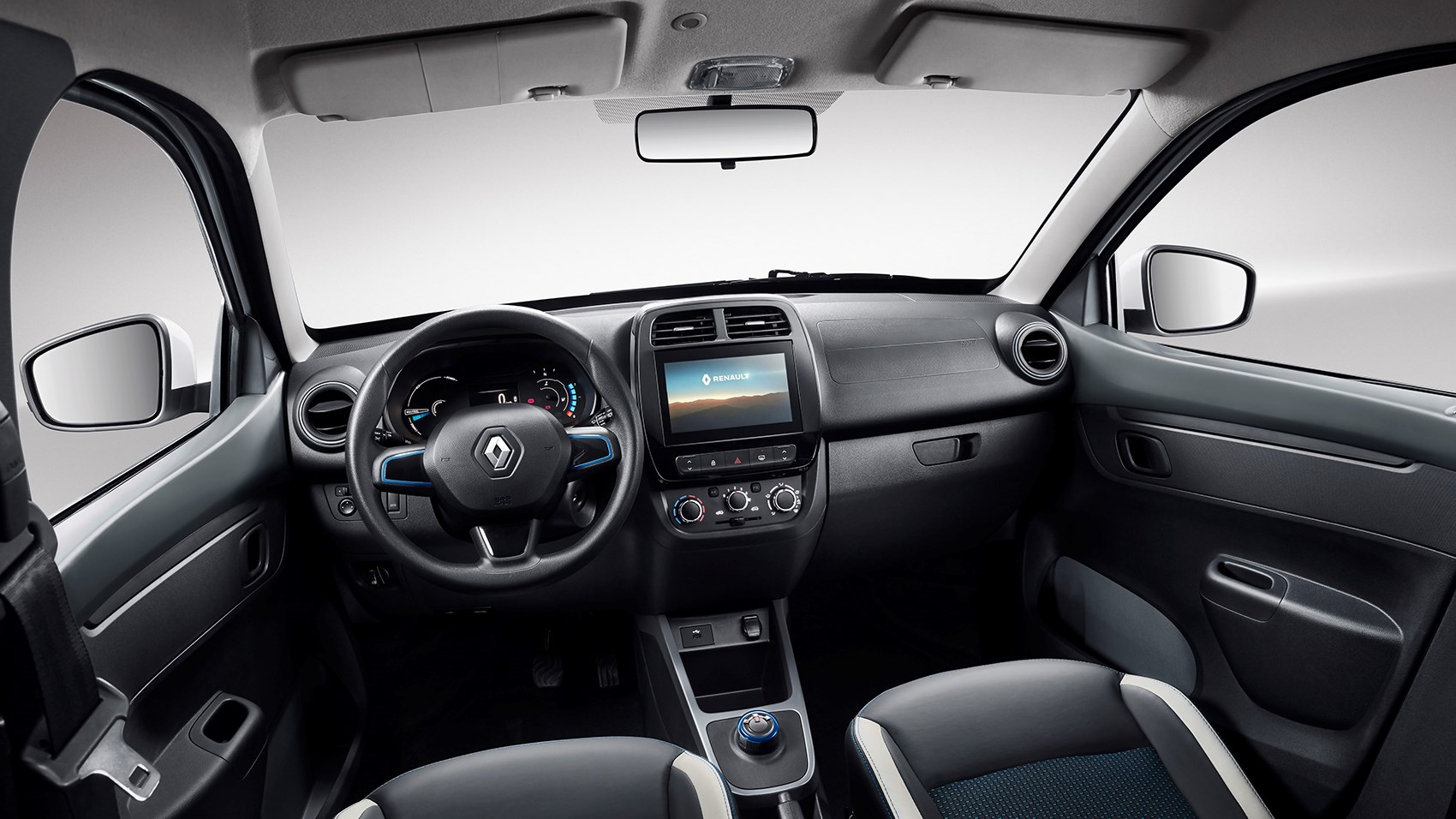 Renault City K-ZE interior - the basis for the Dacia Spring's trim?
