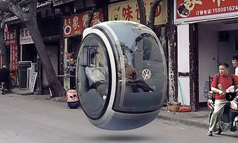 VW's hover car