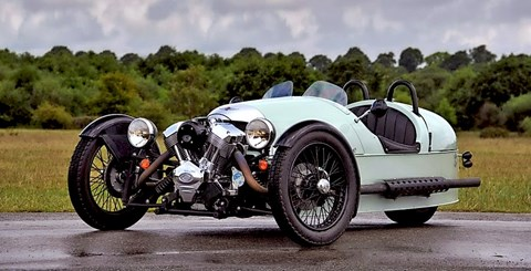 The stunning Morgan Three Wheeler