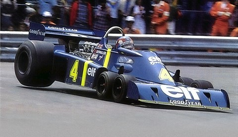 The famous Tyrell P34