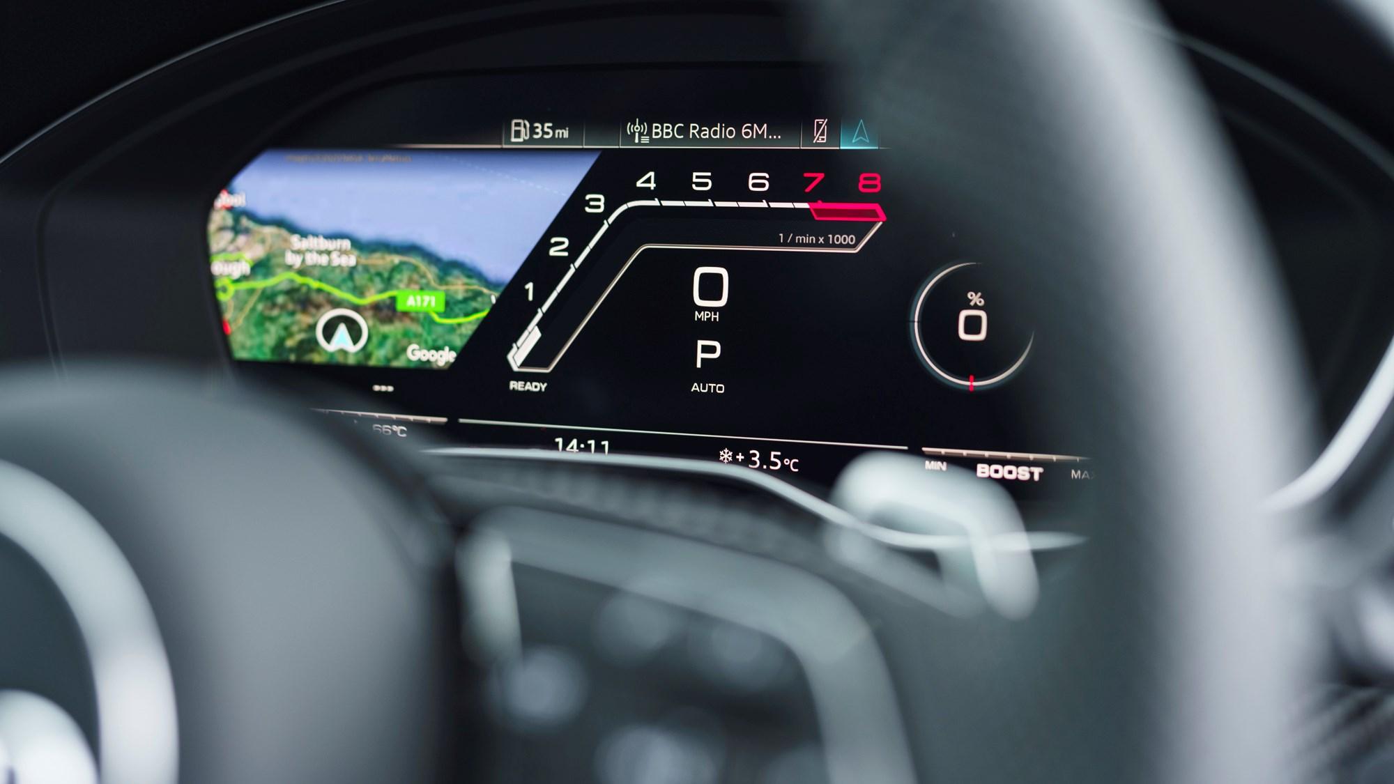 2021 Audi RS4 Avant RS-specific Virtual Cockpit