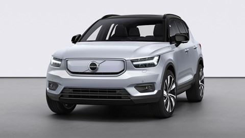 The first Volvo electric car: XC40 Recharge