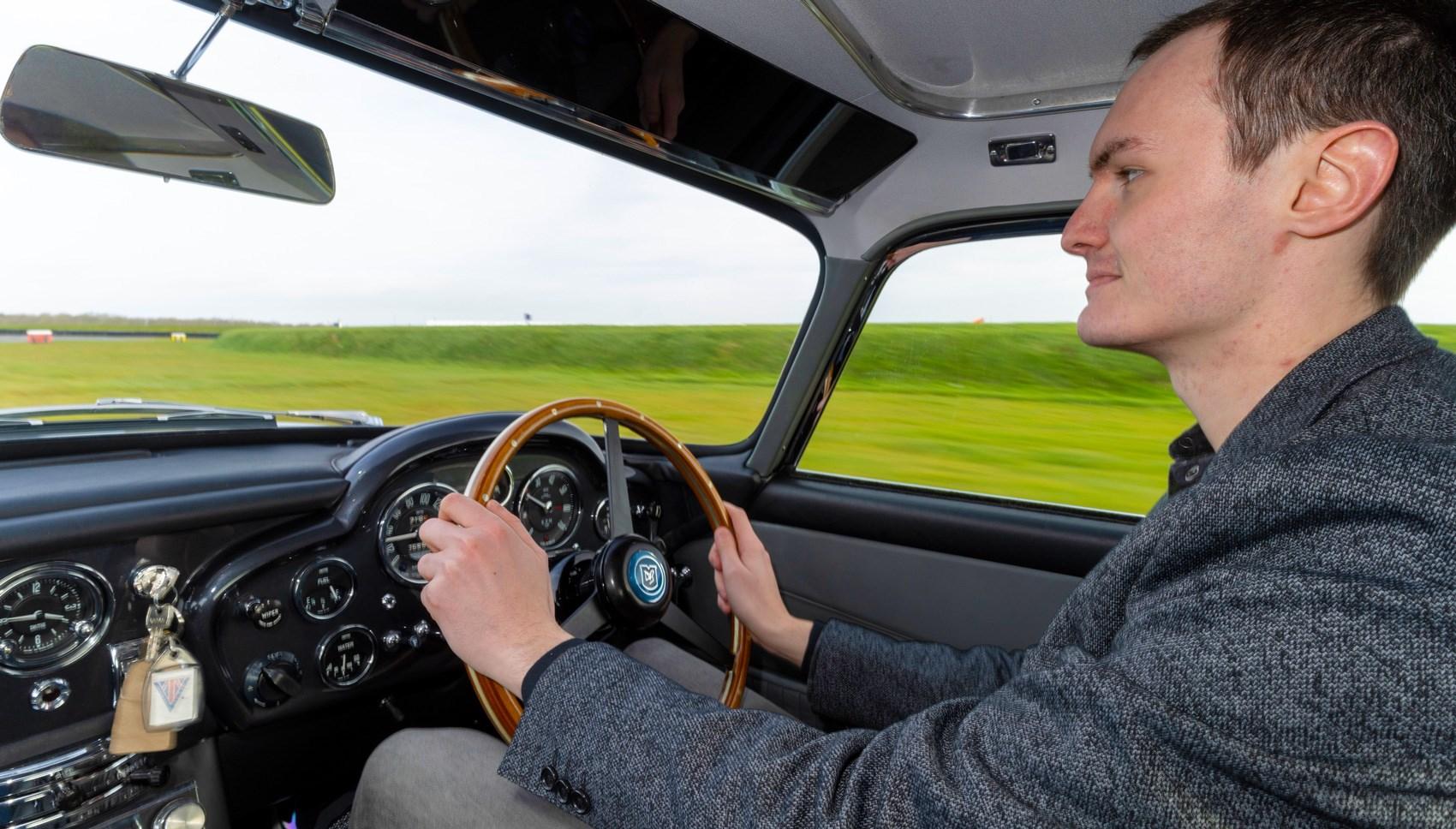 DB5 Jake driving