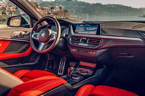 BMW 1er interior