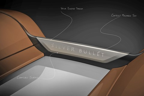 2020 Rolls-Royce Dawn Silver Bullet Collection Aero Cowling plinth