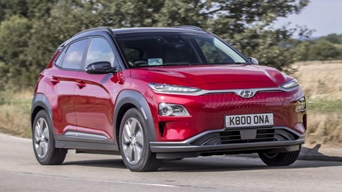 Hyundai Kona Electric - qualifies for the Plug-in Car Grant