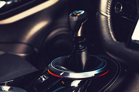 Juke LTT gearshift