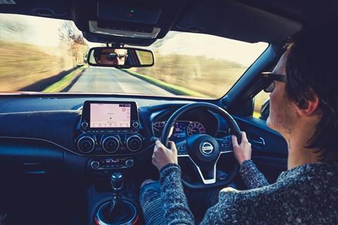 Nissan Juke LTT Jake driving