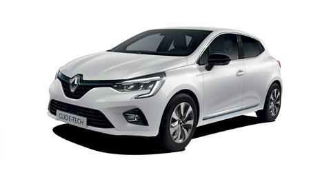 Renault Clio E-Tech hybrid car