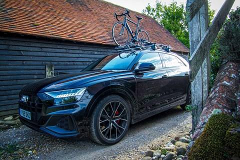 Audi SQ8 bike rack