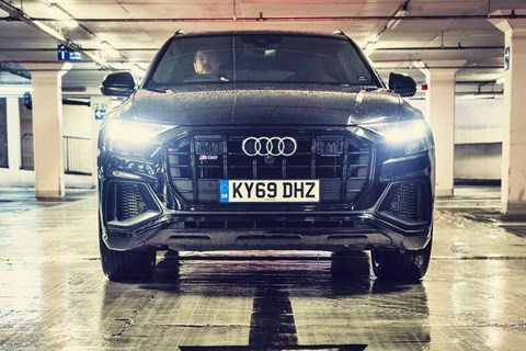 Audi SQ8 hello