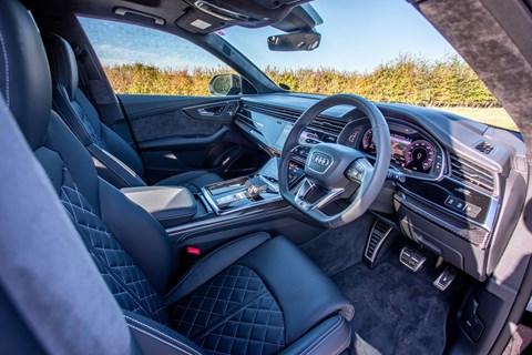 Audi SQ8 interior