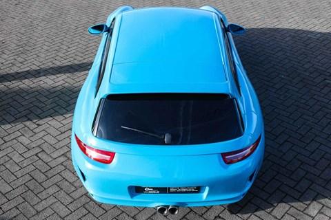 Porsche Boxster shooting brake: a one-off 986