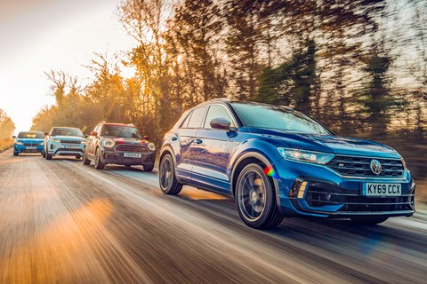 T-Roc group front tracking