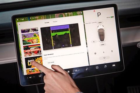 Tesla arcade