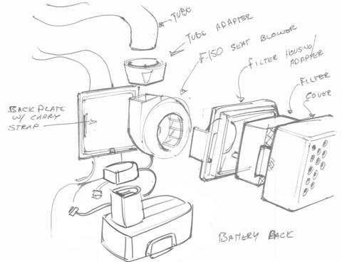 Ford sketches for producing ventilators to beat coronavirus Covid-19