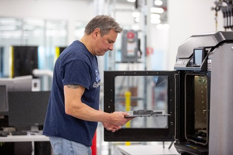 Car makers are uniquely placed to manufacture specialist parts - including tech like 3D printing