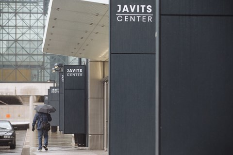 The Javits Center in New York is being turned into a field hospital rather than hosting the New York motor show