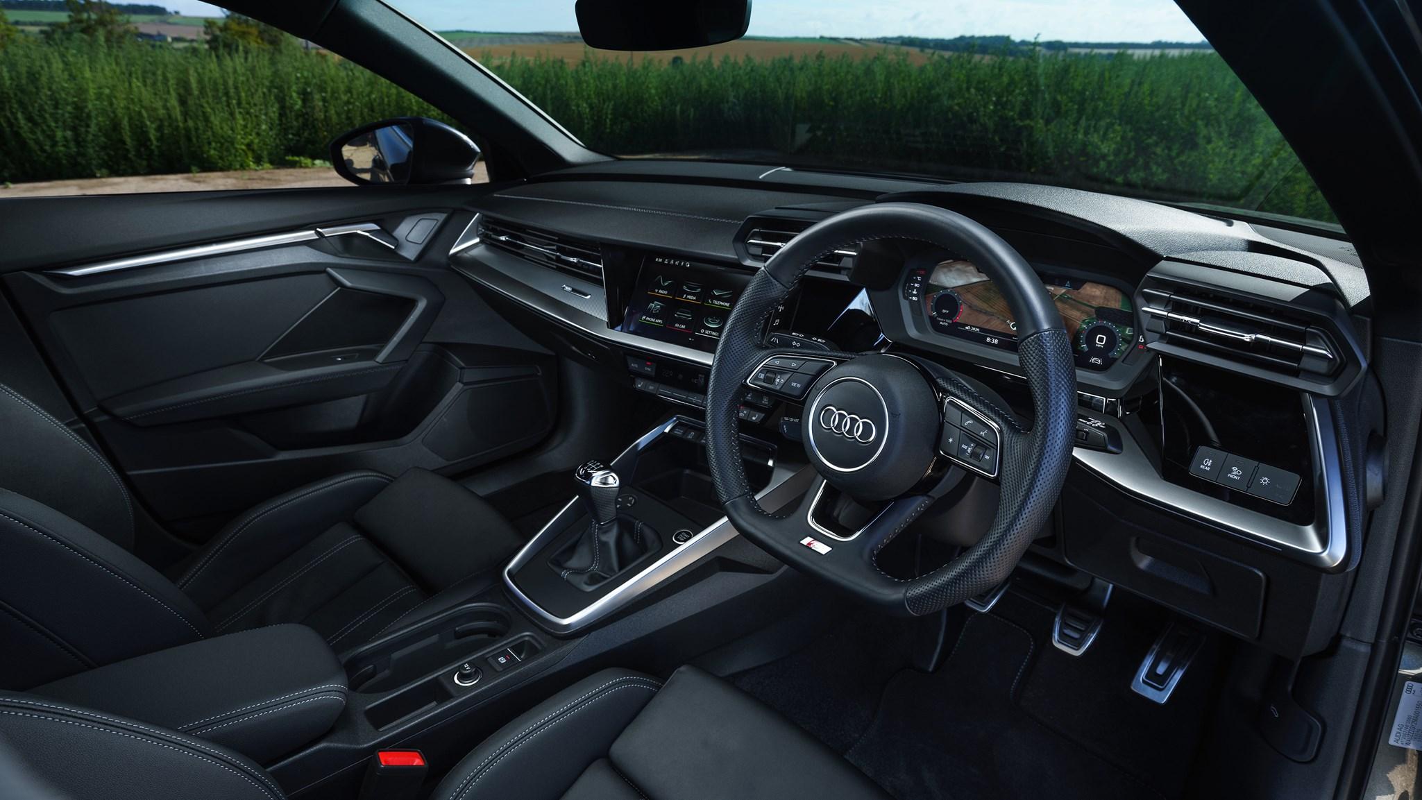 Audi A3 Sportback (2020) interior view