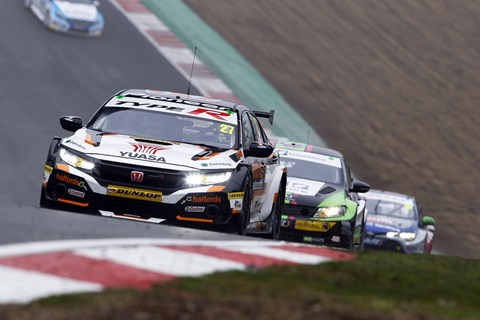 BTCC race calendar has been suspended until at least July 2020