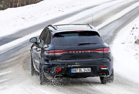 New 2022 Porsche Macan: spy photos by CAR magazine