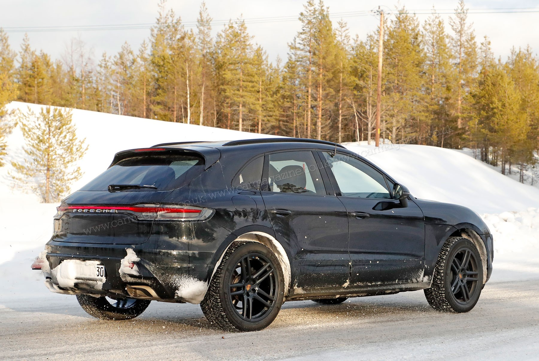 Revealed: new 4 Porsche Macan electric  CAR Magazine