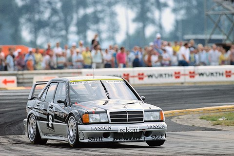 A brute on track: the Mercedes-Benz 190E 2.5-16 Evolution II monstered DTM in the 1990s