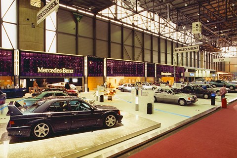 Mercedes-Benz 190E 2.5-16 Evolution II at its Geneva motor show debut