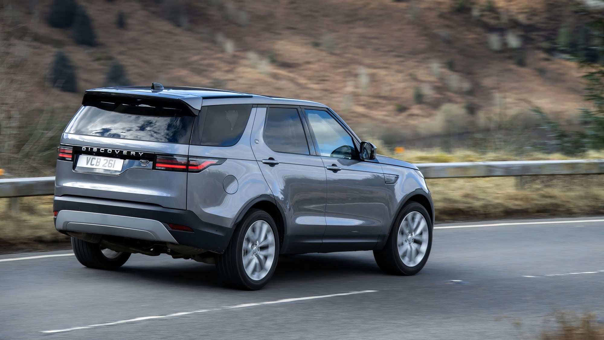 2021 Land Rover Discovery rear three quarter