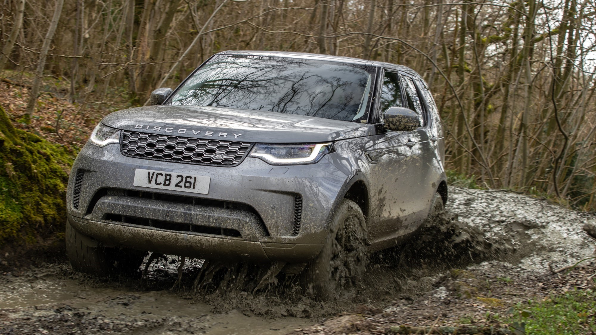 2021 Land Rover Discovery off-road