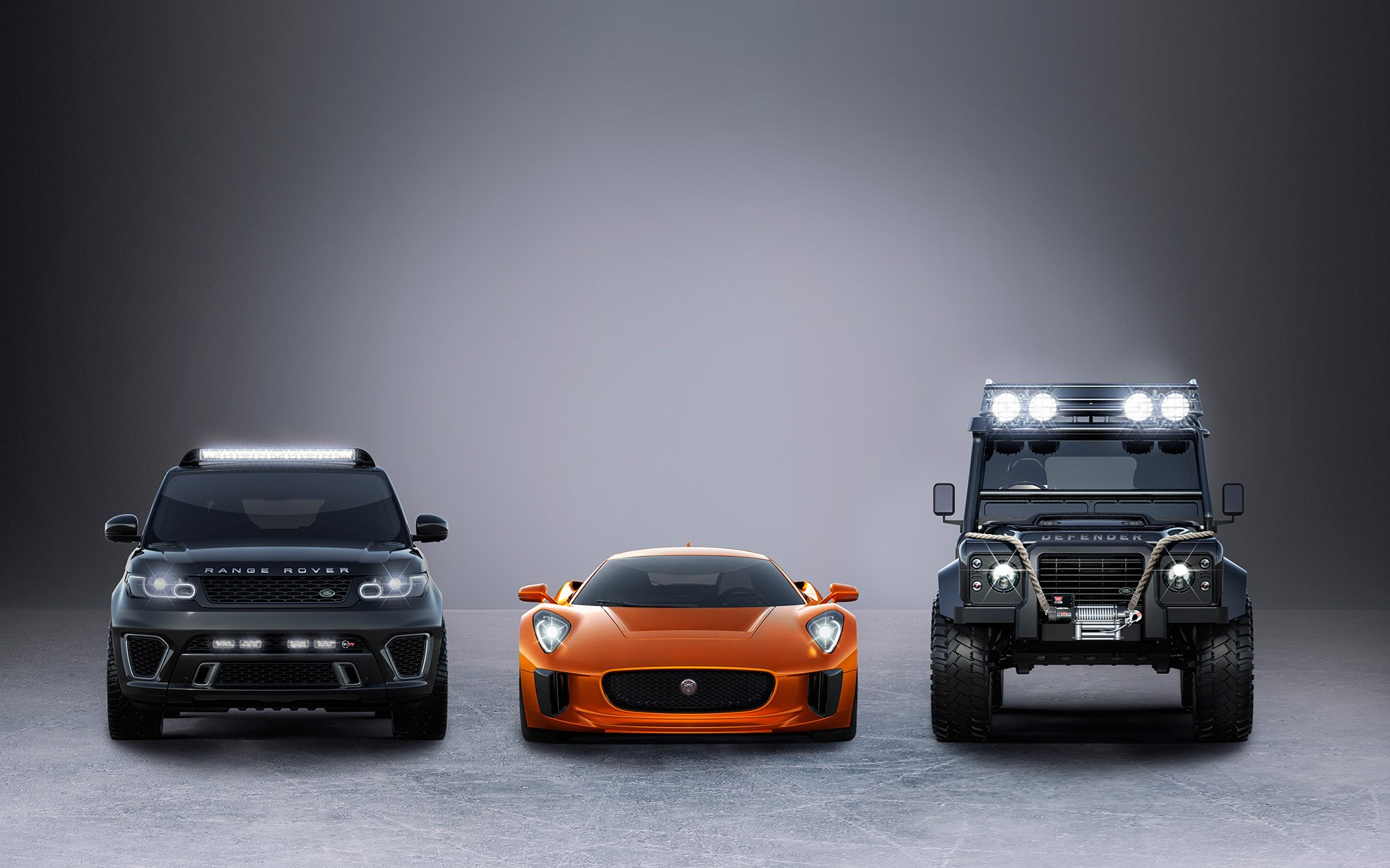 Jaguar C Supercar Toughened Up Land Rover To Star In Next