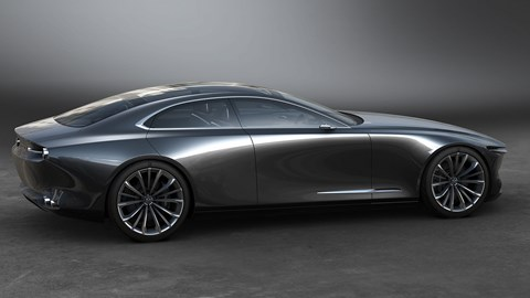 The 2017 Mazda Vision Coupe concept points to stylish new 2022 Mazda 6