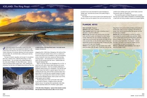 Road trip manual iceland
