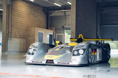 Racing greats Alan McNish, Stéphane Ortelli, Laurent Aiello, Frank Biela and Emanuelle Pirro have all driven this Audi