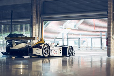 The Audi R8 LMP900 is expected to raise in excess of £1 million