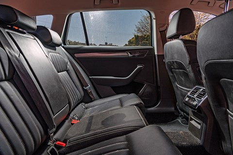 Superb LTT rear seat